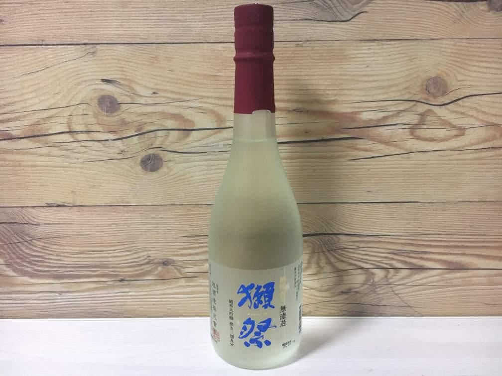 獺祭 純米大吟醸 磨き三割九分 槽場汲み 無濾過生原酒 2017BY