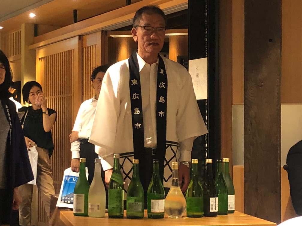 吟醸造り発祥の地、東広島市〜杜氏の目標〜