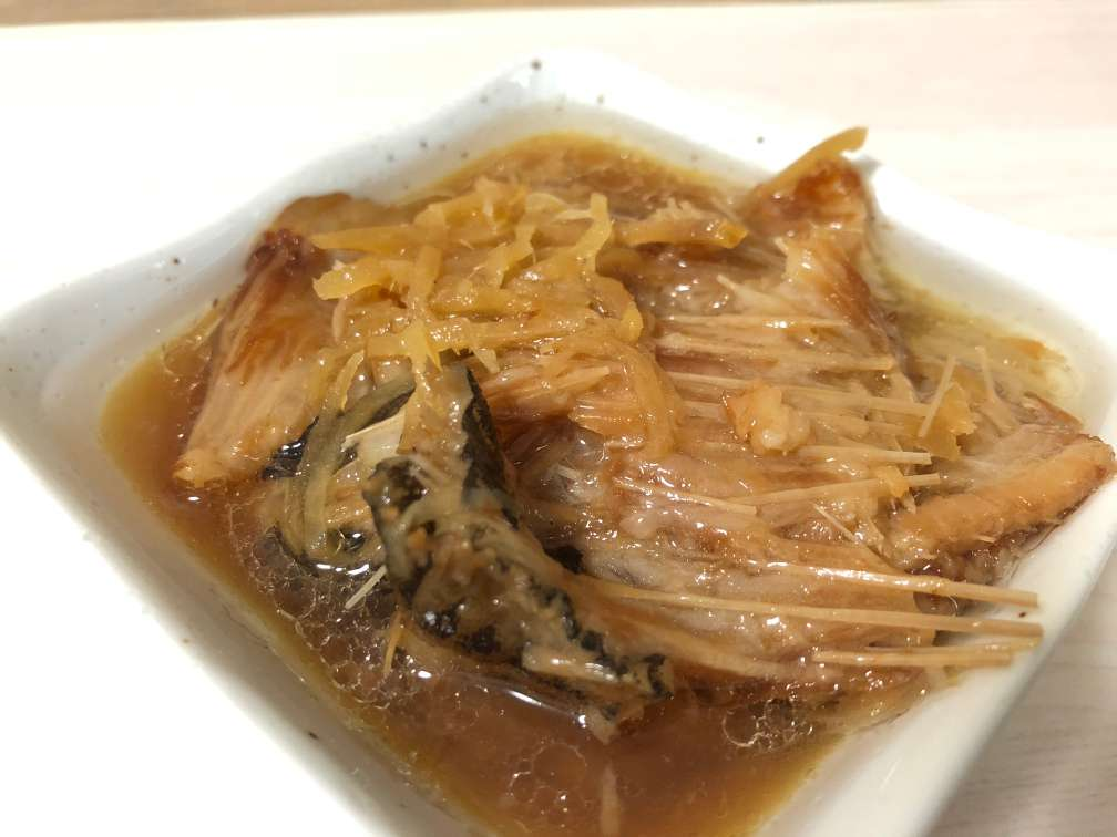 【おつまみ】カレイの縁側醤油煮込み(篠原ともえさんデザイン)|お酒に合うおつまみ紹介・感想